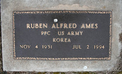 PFC Ruben Alfred Ames