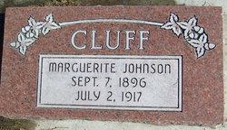 Marguerite <I>Johnson</I> Cluff