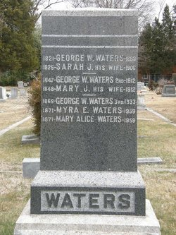George W Waters III