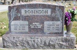 "Lamond William ""Hap"" Robinson"