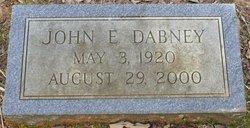 John E. Dabney