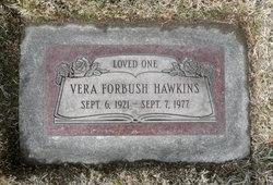 Vera Maud <I>Forbush</I> Hawkins