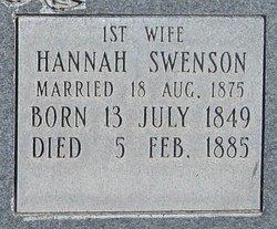 Hannah Swenson Monson