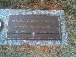 Lemon <I>Tuggle</I> Brogdon