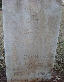 George Green Anders