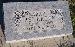 Sarah E Petersen