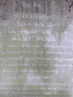 Mary <I>Burr</I> Prence