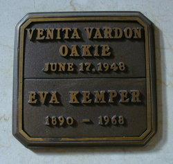 Venita <I>Vardon</I> Oakie