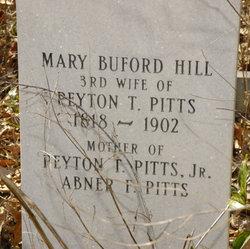 Mary Buford <I>Hill</I> Pitts
