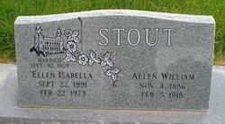 Ellen Isabella Stout <I>Thurston</I> Hopkins