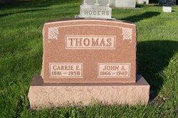 Carrie E <I>Dawson</I> Thomas
