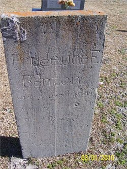 Prudence Elmina <I>Cox</I> Benton
