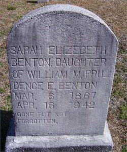 Sarah Elizabeth Benton