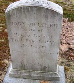 Mary White <I>Melcher</I> Barnes