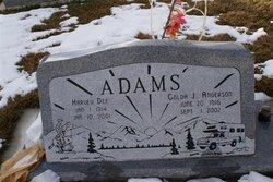 Golda Jane <I>Anderson</I> Adams