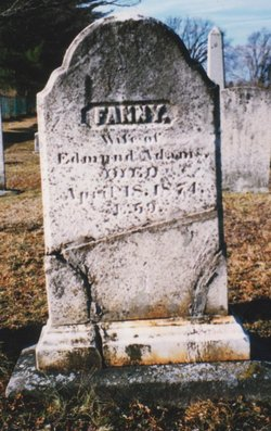 Fanny Adelaide <I>Somers</I> Adams