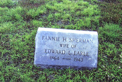 Fannie H. <I>Sherman</I> Earle