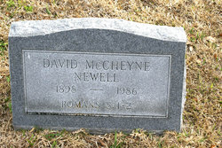 David McCheyne Newell