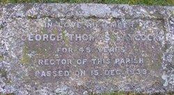 Rev George Thomas Laycock