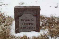 Isaac C Brown
