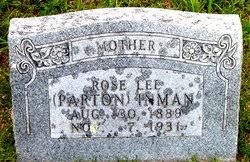 Rose Lee <I>Parton</I> Inman