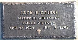 Jack H Cruise