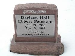 Darlene Hall <I>Ebbert</I> Peterson