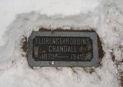Florence Mary <I>Robbins</I> Crandall