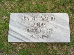 Ralph Waldo Adams Sr.
