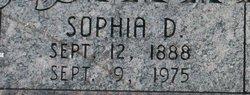 Sophia <I>Dickson</I> Weaver
