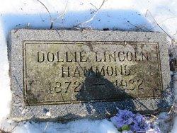 Dollie <I>Lincoln</I> Hammond