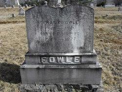 """Francis Etta """"Fannie"""" <I>Dickinson</I> Fowle"""