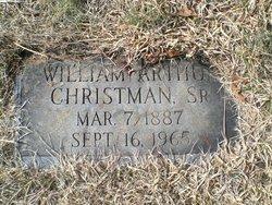 William Arthur Christman, Sr