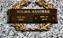 Wilma <I>Myers</I> Aguirre