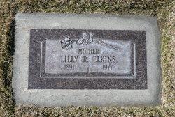 Lilly Mary <I>Rasmussen</I> Elkins