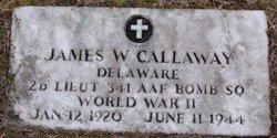 2LT James Wilbur Callaway
