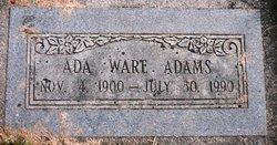 Ada <I>Ware</I> Adams