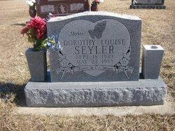 Dorothy Louise <I>Mignot</I> Seyler