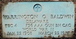 Warrington G Baldwin