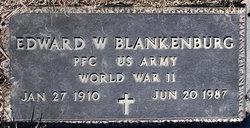 Edward W Blankenburg