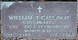 William T Calloway