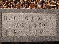 Nancy Esther <I>Roop</I> Boothe