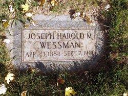 Joseph Harold M. Wessman