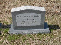 Abbie Dulany <I>Hyde</I> Barnes
