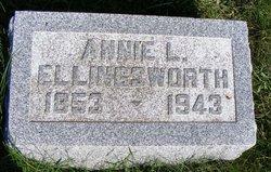 "Anna Lovina ""Annie"" <I>Jones</I> Ellingsworth"