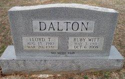 Ruby <I>Witt</I> Dalton