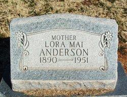 Lora Mae <I>Dill</I> Anderson
