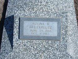 Alvina W. Breitkreutz