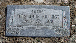 Amy Jane <I>Brown</I> Billings