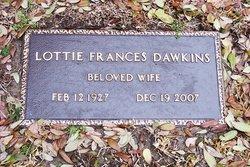 Lottie Frances <I>Hicks</I> Dawkins